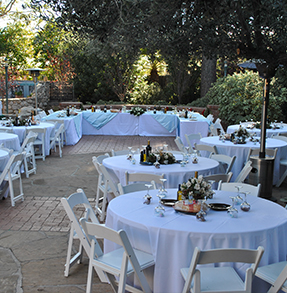 Host an event tucson botanical garden porter hallreception garden junglespirit
