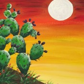 Painting Party -Prickly pear