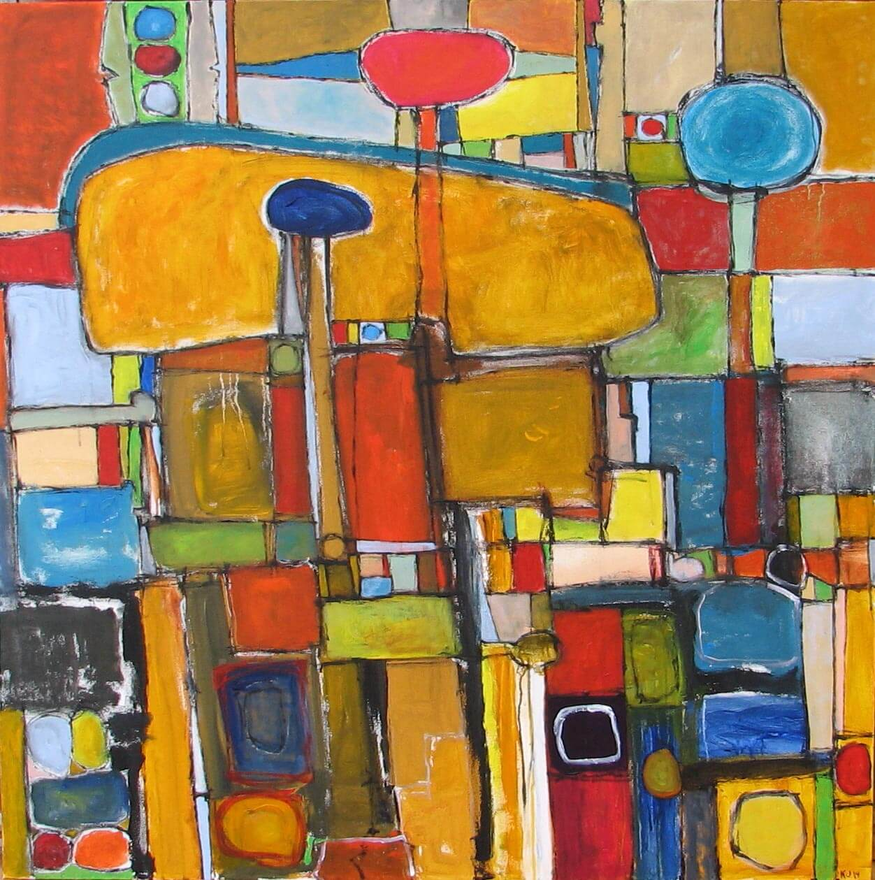 Kyle Johnston: Expression of Color and Shape